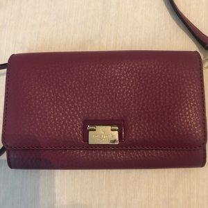 Kate Spade Clutch Purse With Strap